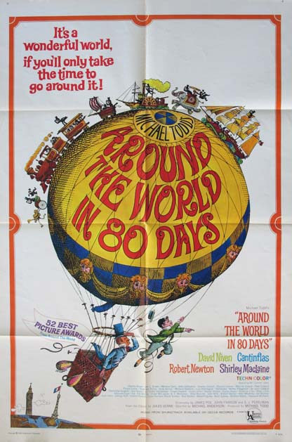 AROUND THE WORLD IN 80 DAYS @ FilmPosters.com
