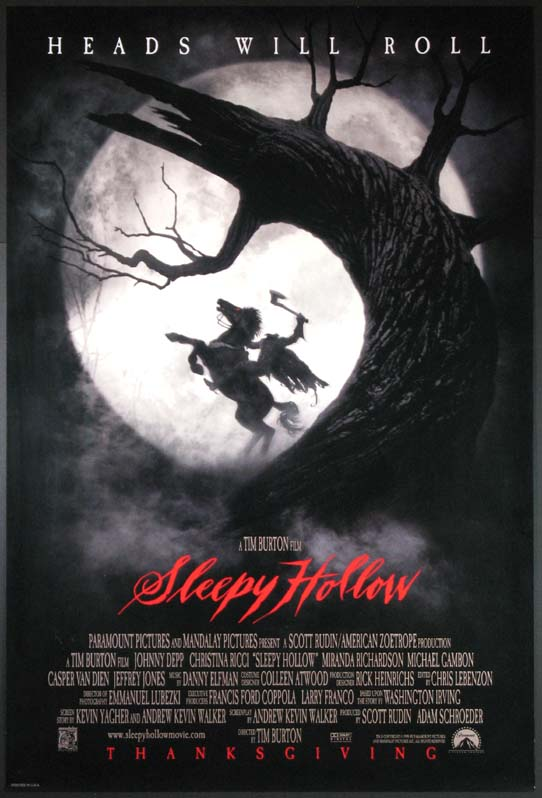 SLEEPY HOLLOW @ FilmPosters.com