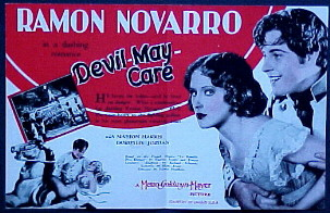DEVIL MAY CARE @ FilmPosters.com