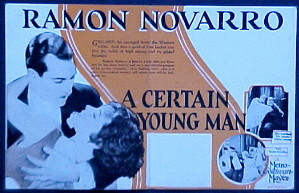 CERTAIN YOUNG MAN, A @ FilmPosters.com
