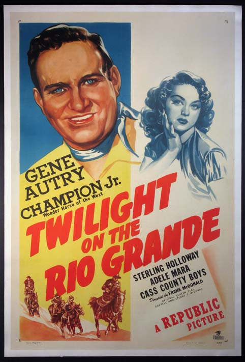 TWILIGHT ON THE RIO GRANDE @ FilmPosters.com