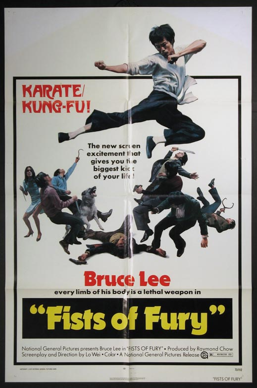 FISTS OF FURY @ FilmPosters.com