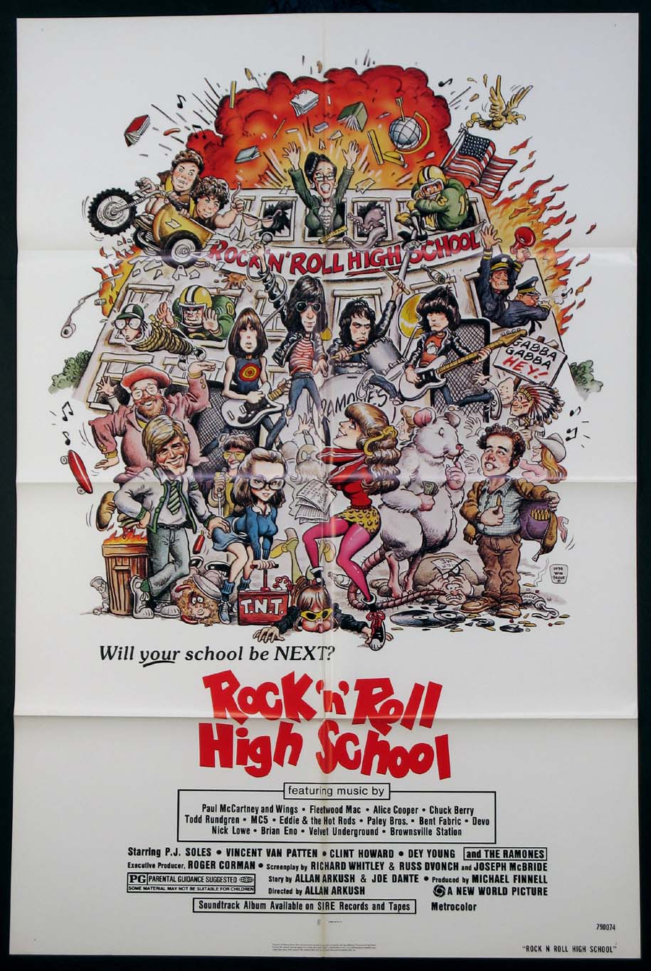 ROCK N ROLL HIGH SCHOOL (Rock and Roll High School) @ FilmPosters.com