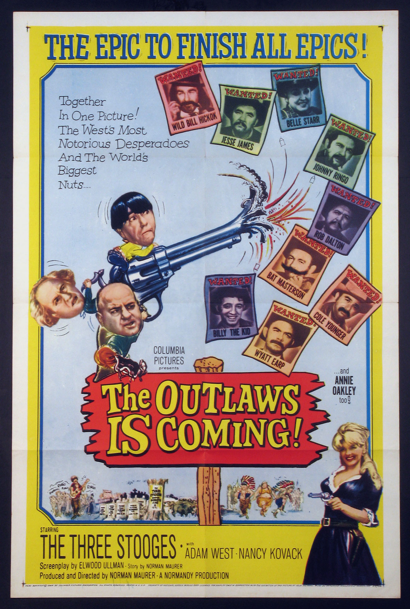 OUTLAWS IS COMING, THE @ FilmPosters.com