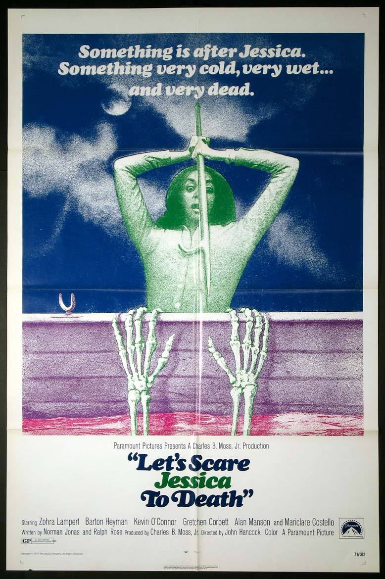 LET'S SCARE JESSICA TO DEATH (Lets Scare Jessica to Death) @ FilmPosters.com