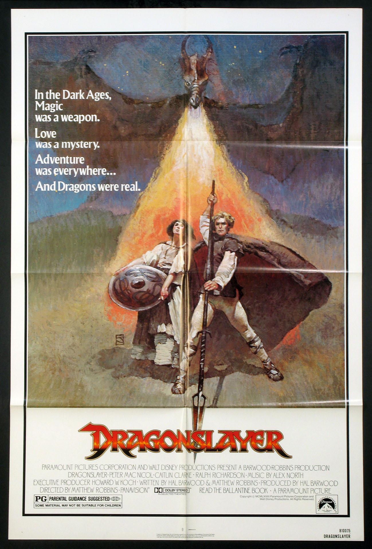 DRAGONSLAYER @ FilmPosters.com