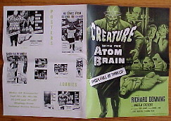 CREATURE WITH THE ATOM BRAIN @ FilmPosters.com