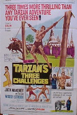 TARZAN'S THREE CHALLENGES @ FilmPosters.com