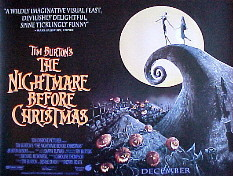 NIGHTMARE BEFORE CHRISTMAS, THE @ FilmPosters.com
