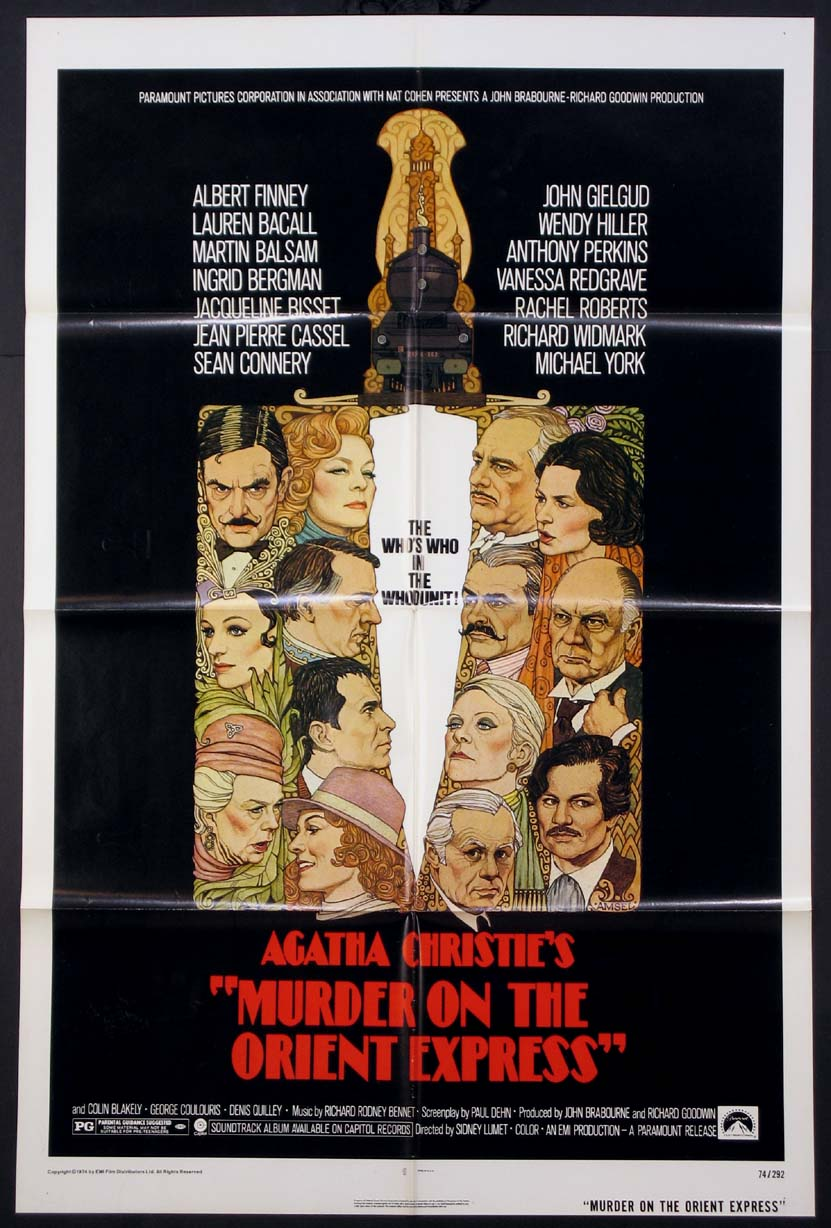 MURDER ON THE ORIENT EXPRESS @ FilmPosters.com