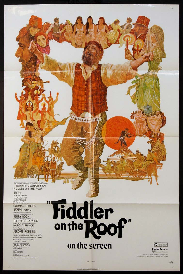 FIDDLER ON THE ROOF @ FilmPosters.com