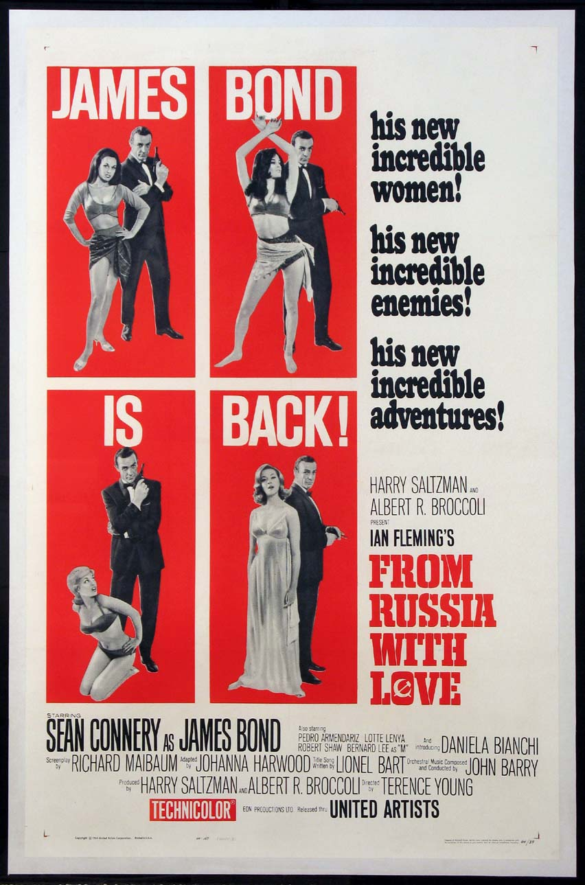 FROM RUSSIA WITH LOVE (James Bond) @ FilmPosters.com