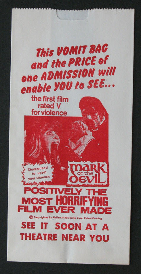 MARK OF THE DEVIL @ FilmPosters.com