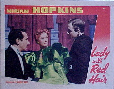 LADY WITH RED HAIR, THE @ FilmPosters.com