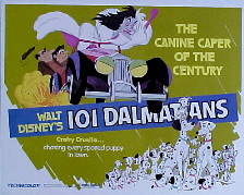 ONE HUNDRED AND ONE DALMATIANS (101 Dalmations) @ FilmPosters.com