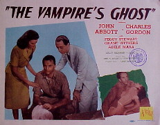 VAMPIRE'S GHOST, THE @ FilmPosters.com