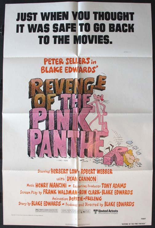 REVENGE OF THE PINK PANTHER, THE @ FilmPosters.com