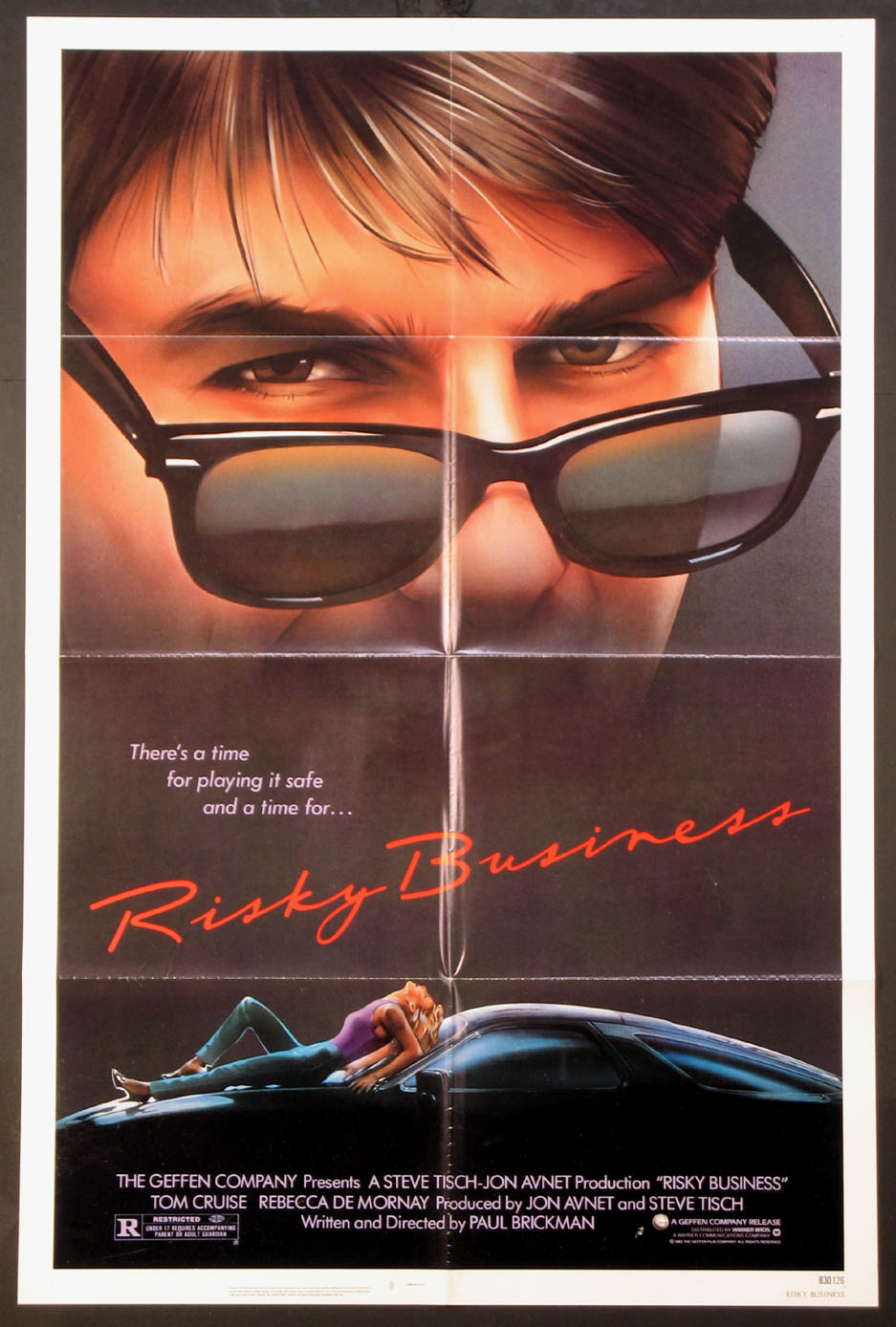 RISKY BUSINESS @ FilmPosters.com