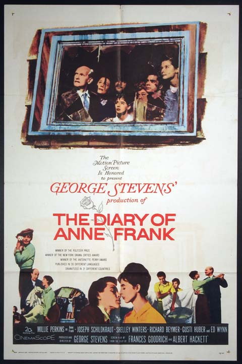 DIARY OF ANNE FRANK @ FilmPosters.com