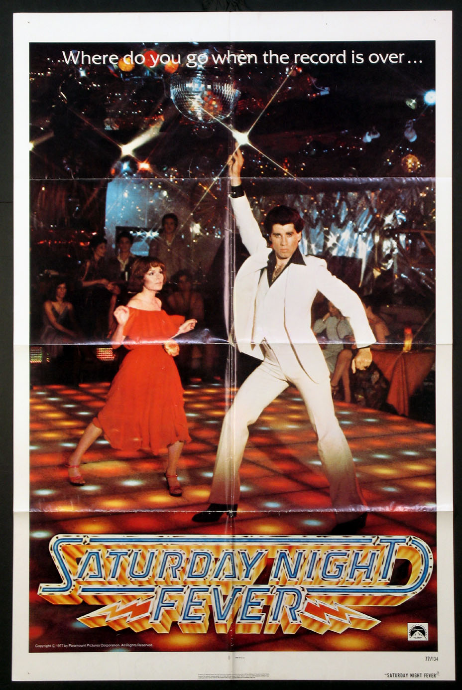 SATURDAY NIGHT FEVER @ FilmPosters.com