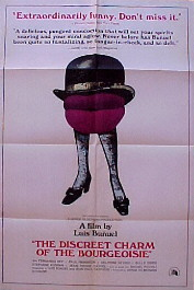 DISCREET CHARM OF THE BOURGEOISIE @ FilmPosters.com