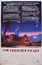 ONE FROM THE HEART @ FilmPosters.com