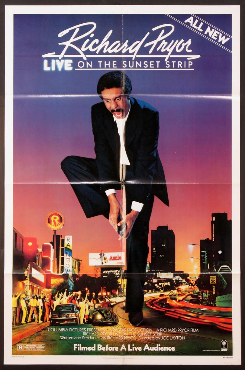 RICHARD PRYOR LIVE ON THE SUNSET STRIP @ FilmPosters.com
