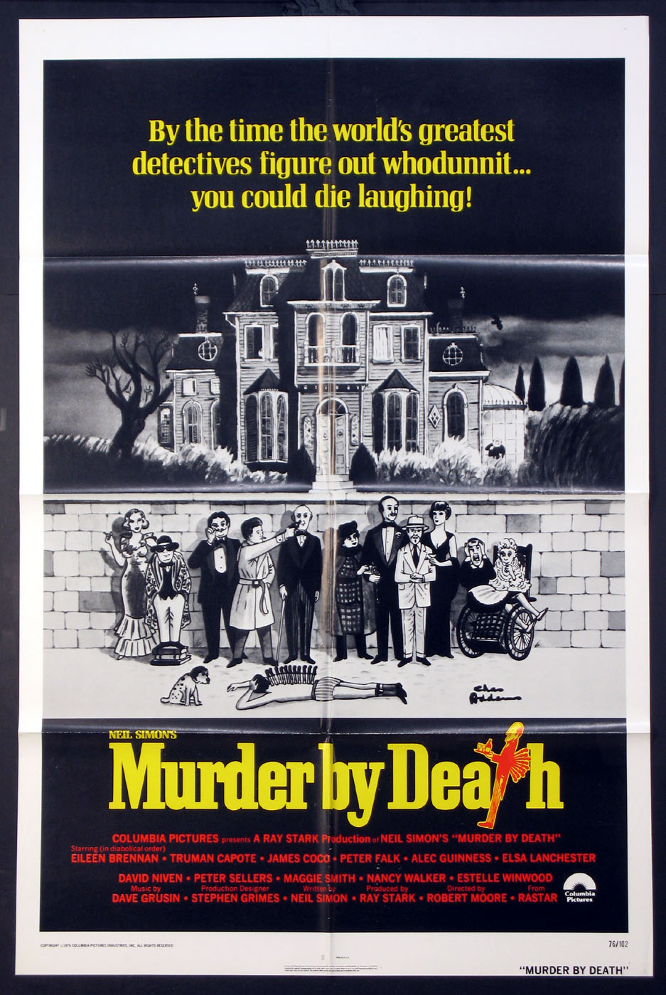 MURDER BY DEATH @ FilmPosters.com