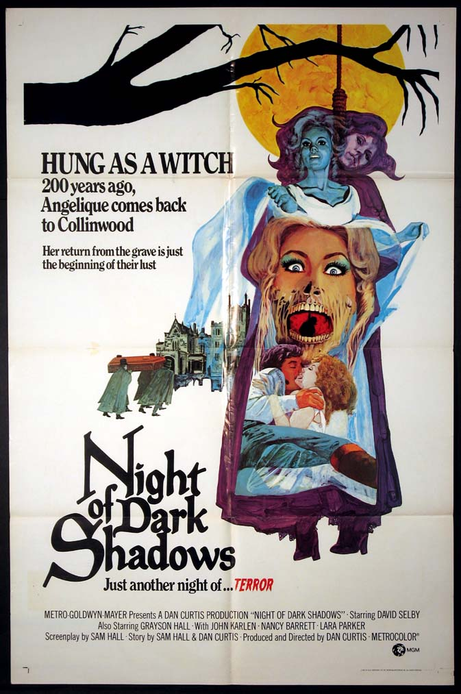 NIGHT OF DARK SHADOWS, THE @ FilmPosters.com