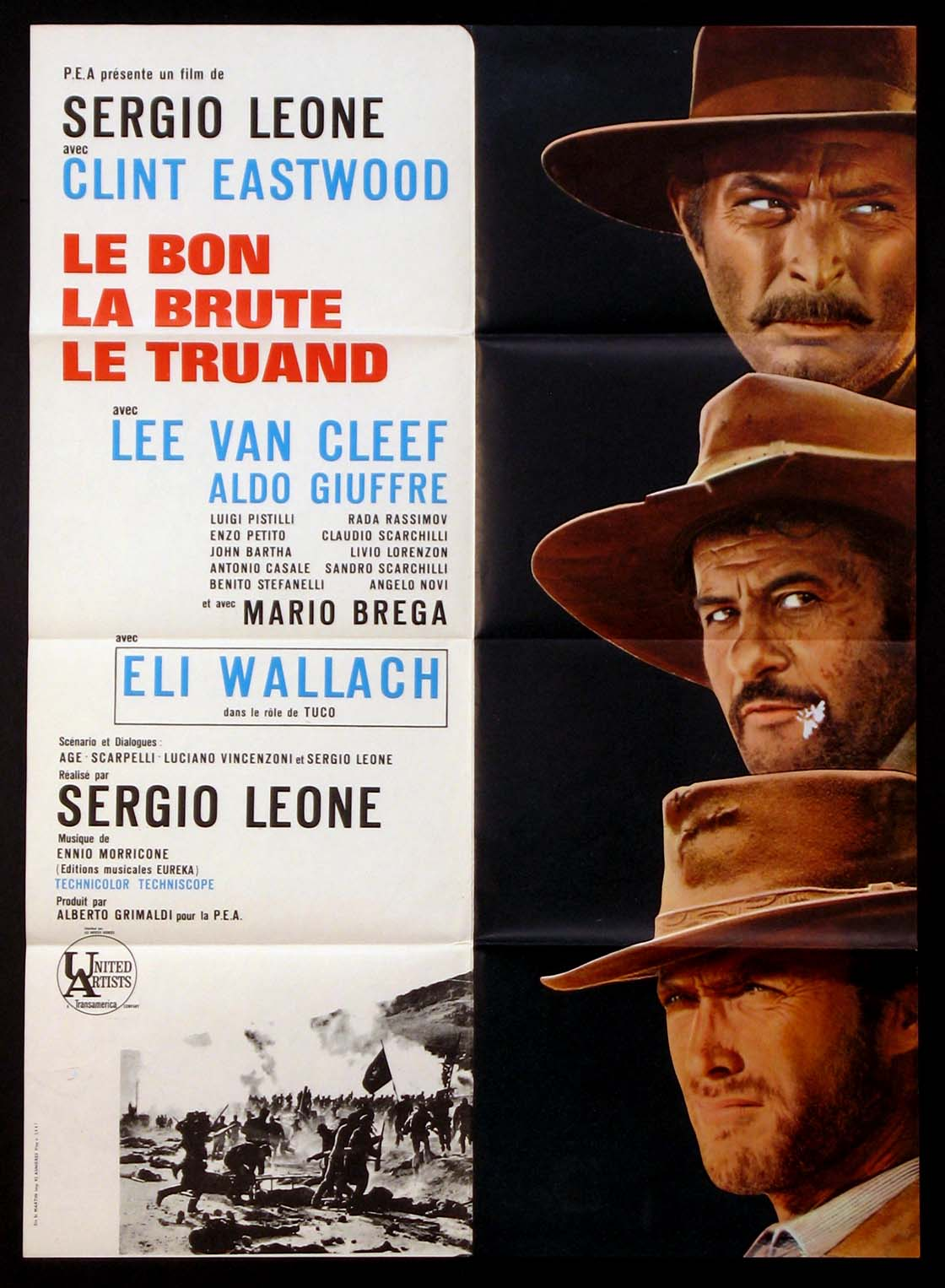 GOOD THE BAD AND THE UGLY @ FilmPosters.com