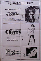 VIXEN / CHERRY HARRY & RACQUEL / FINDERS KEEPERS... @ FilmPosters.com