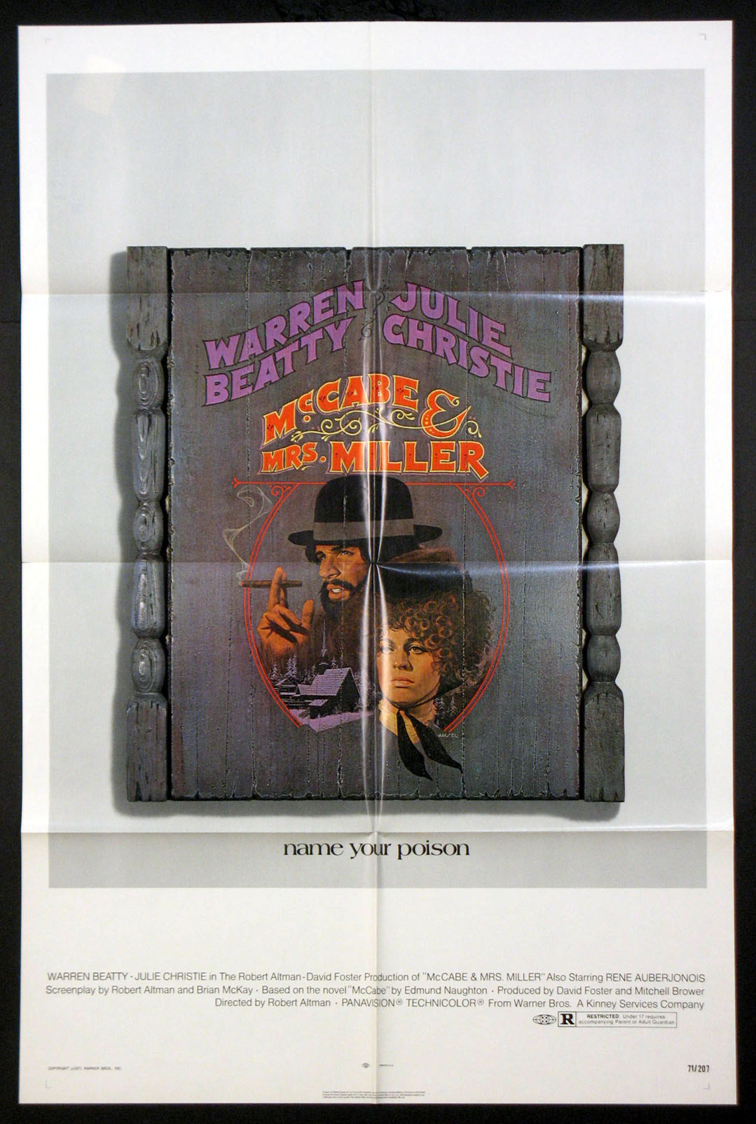 MCCABE AND MRS. MILLER @ FilmPosters.com