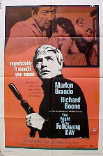 NIGHT OF THE FOLLOWING DAY @ FilmPosters.com