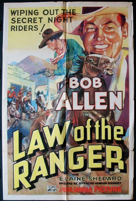 LAW OF THE RANGER @ FilmPosters.com