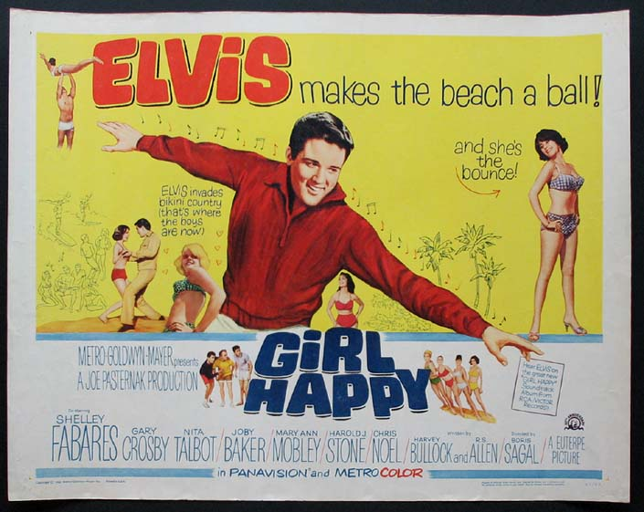 GIRL HAPPY @ FilmPosters.com
