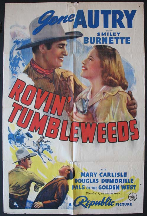 ROVIN TUMBLEWEEDS (Rovin') @ FilmPosters.com