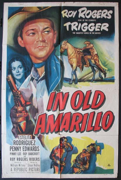 IN OLD AMARILLO @ FilmPosters.com