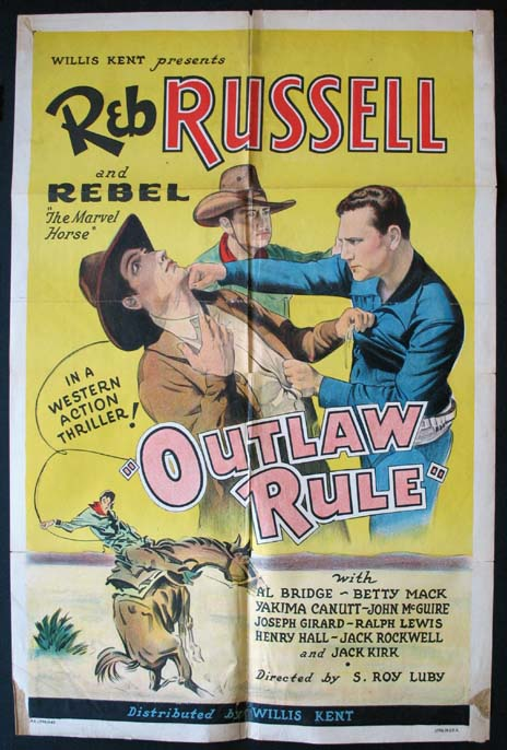 OUTLAW RULE @ FilmPosters.com
