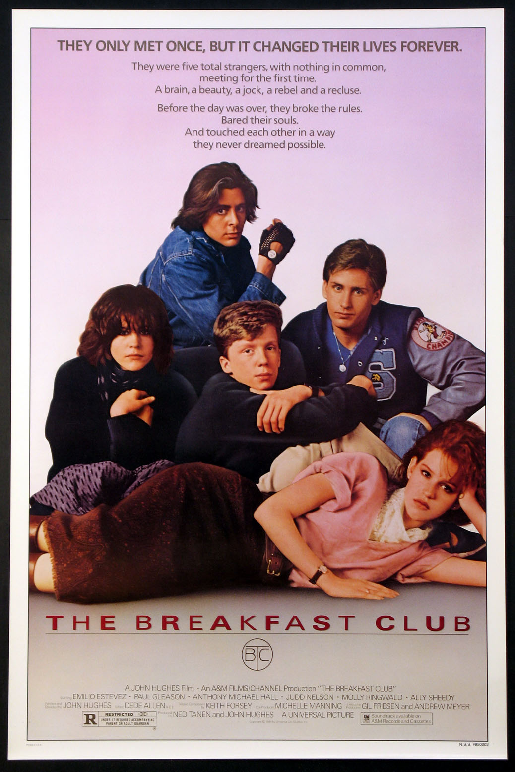BREAKFAST CLUB, THE (The Breakfast Club) @ FilmPosters.com