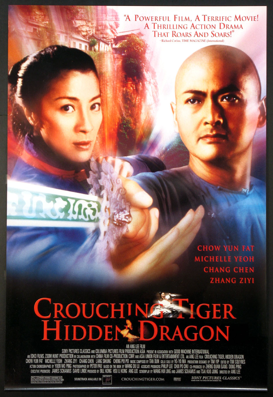 CROUCHING TIGER HIDDEN DRAGON @ FilmPosters.com