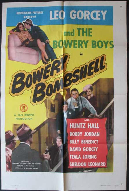 BOWERY BOMBSHELL @ FilmPosters.com