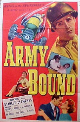 ARMY BOUND @ FilmPosters.com