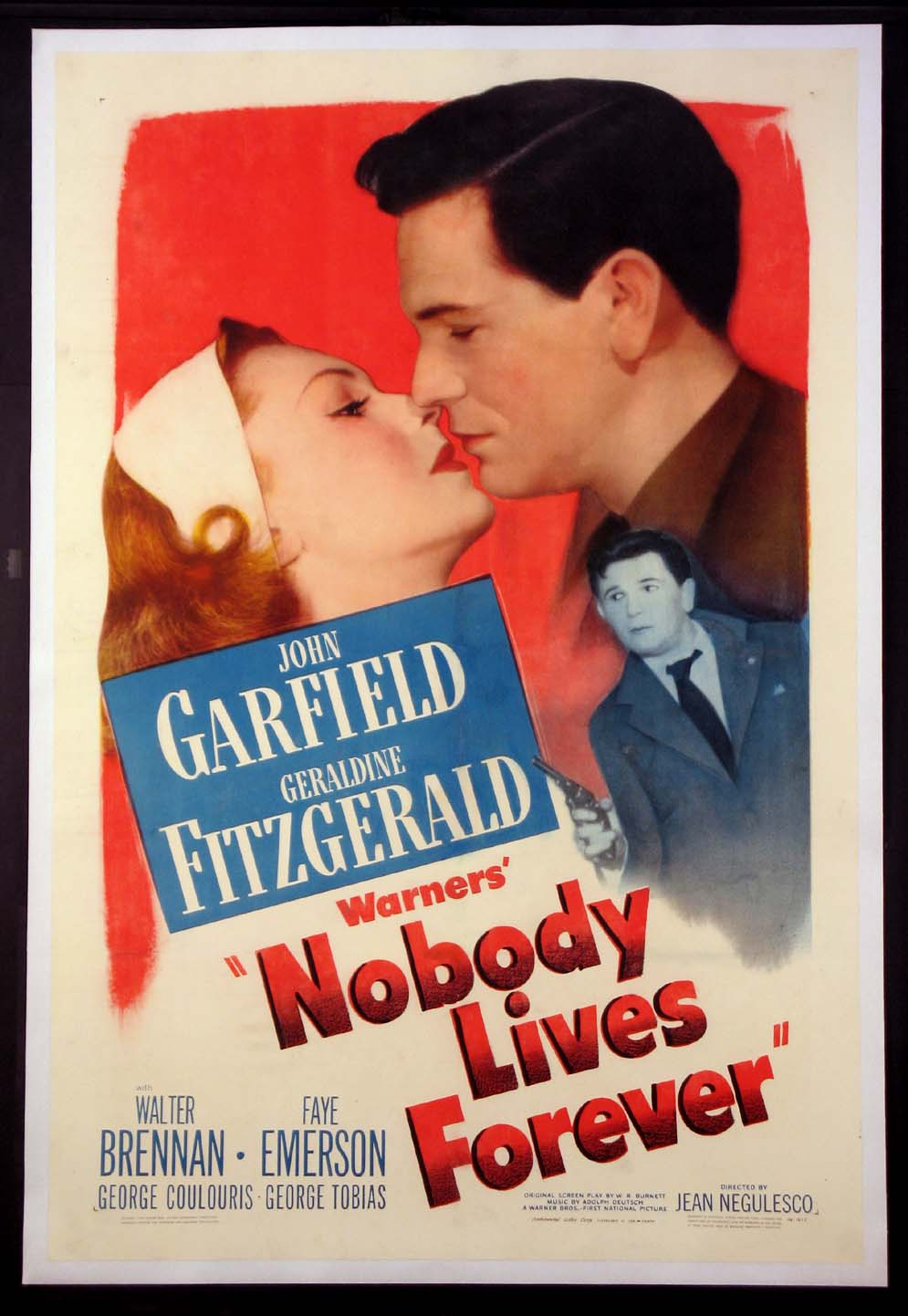 NOBODY LIVES FOREVER @ FilmPosters.com