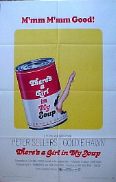 THERE'S A GIRL IN MY SOUP @ FilmPosters.com