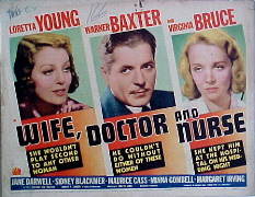 WIFE, DOCTOR AND NURSE @ FilmPosters.com