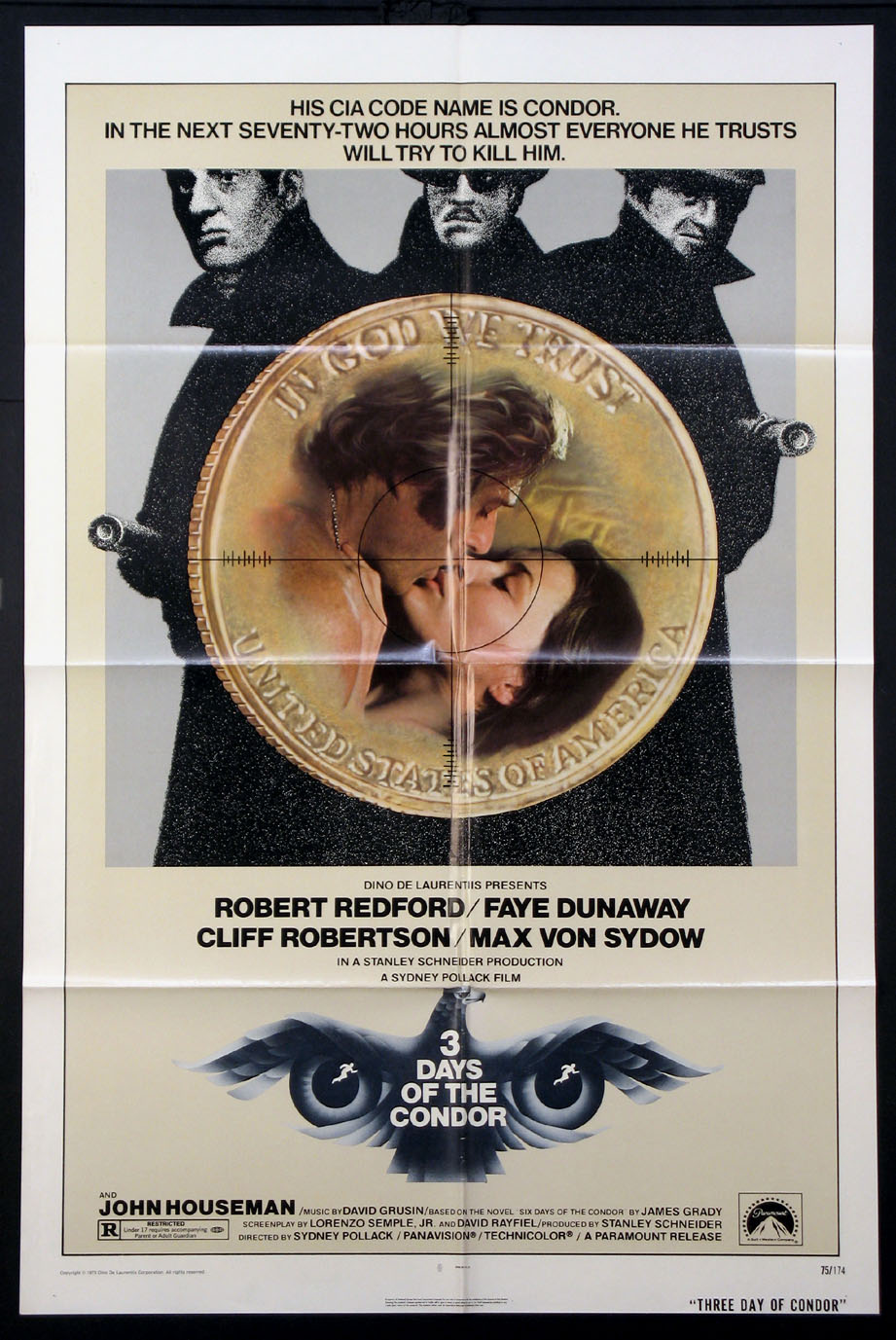 THREE DAYS OF THE CONDOR @ FilmPosters.com