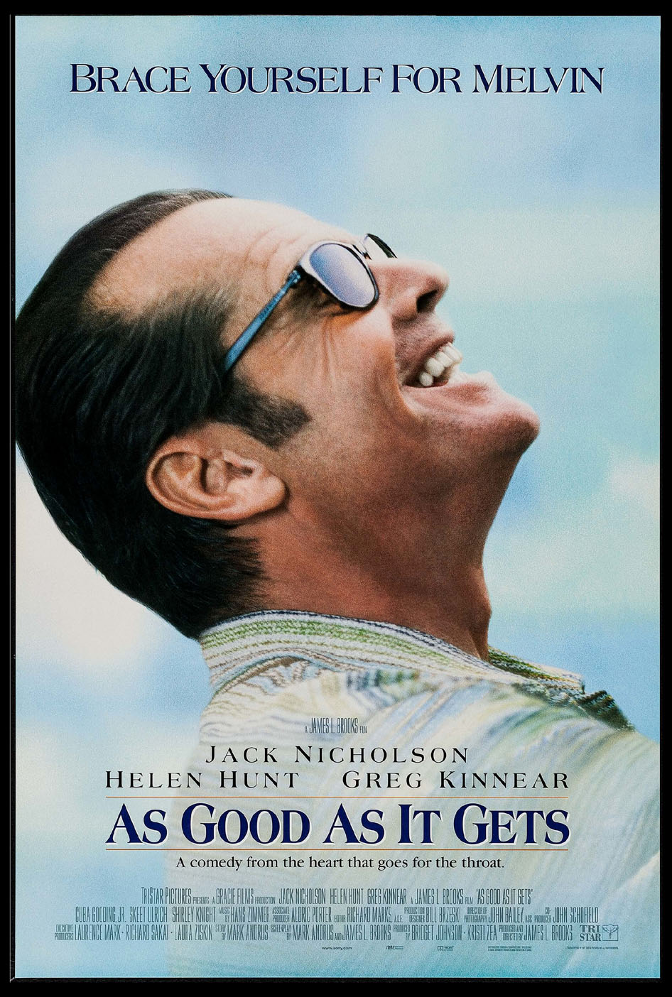 AS GOOD AS IT GETS @ FilmPosters.com