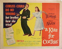 KISS FOR CORLISS, A @ FilmPosters.com