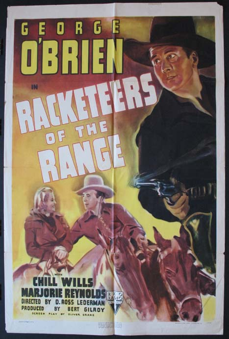 RACKETEERS OF THE RANGE @ FilmPosters.com