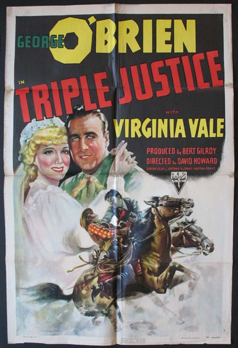 TRIPLE JUSTICE @ FilmPosters.com